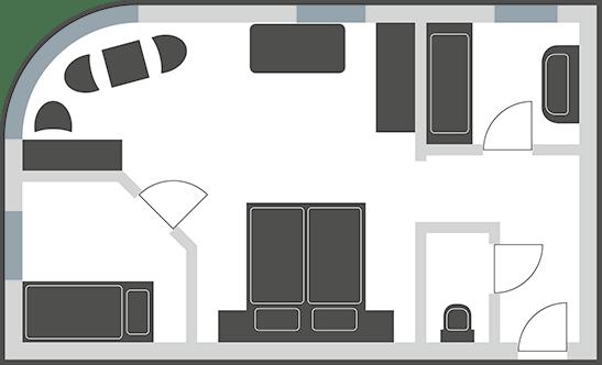 Familienzimmer Mehrbettzimmer